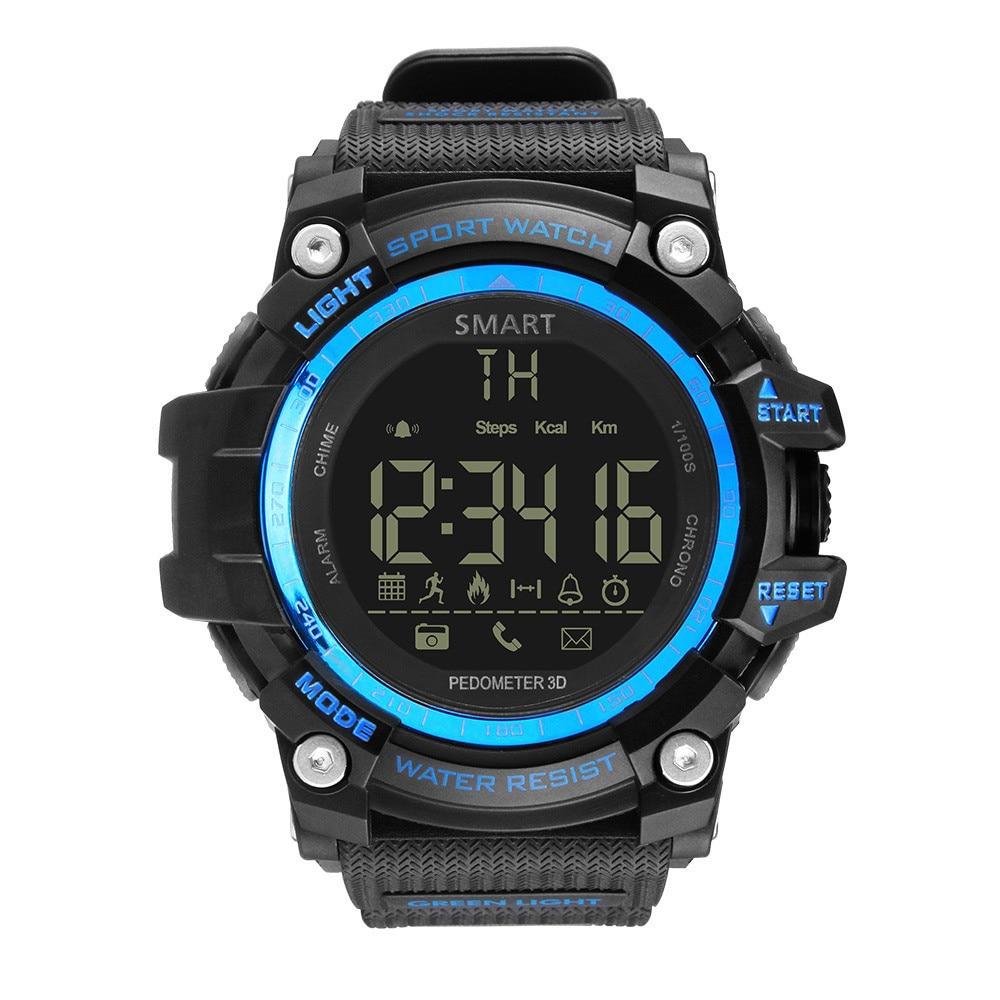 Smart Watch Outdoor Electronic LED Waterproof IP68 Smart Watch Men's Sports Digital Pedometer Multifunction Watch relogio|relogio relogios|relogio digital|relogio digital smart - title=