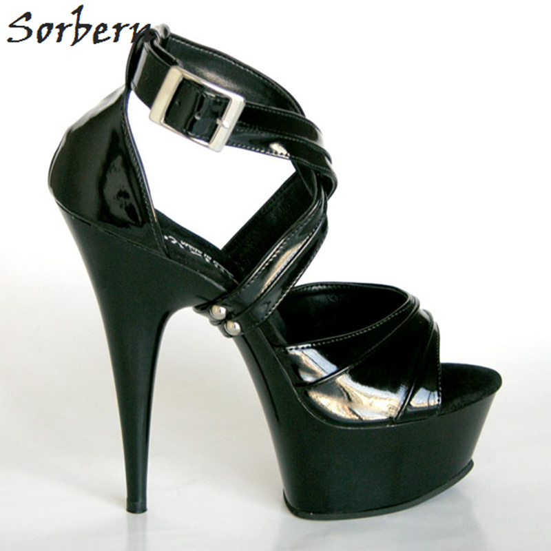 Sorbern Sweet 16 Party Decorations Sandals Big Size Shoes Woman Custom Color Open Toe Platform Super High Heels Sandals Lace-UpSorbern Sweet 16 Party Decorations Sandals Big Size Shoes Woman Custom Color Open Toe Platform Super High Heels Sandals Lace-Up