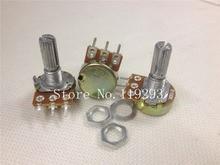 [BELLA]WL 148 Single volume potentiometer B100K- axis 20MM–100PCS/LOT
