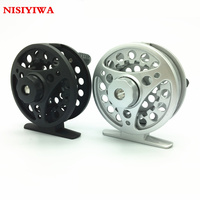Mini 2 1RB Ice Flywheel Aluminum Alloy Ice Fishing Wheel Left Right Hand Ice Fly Fishing