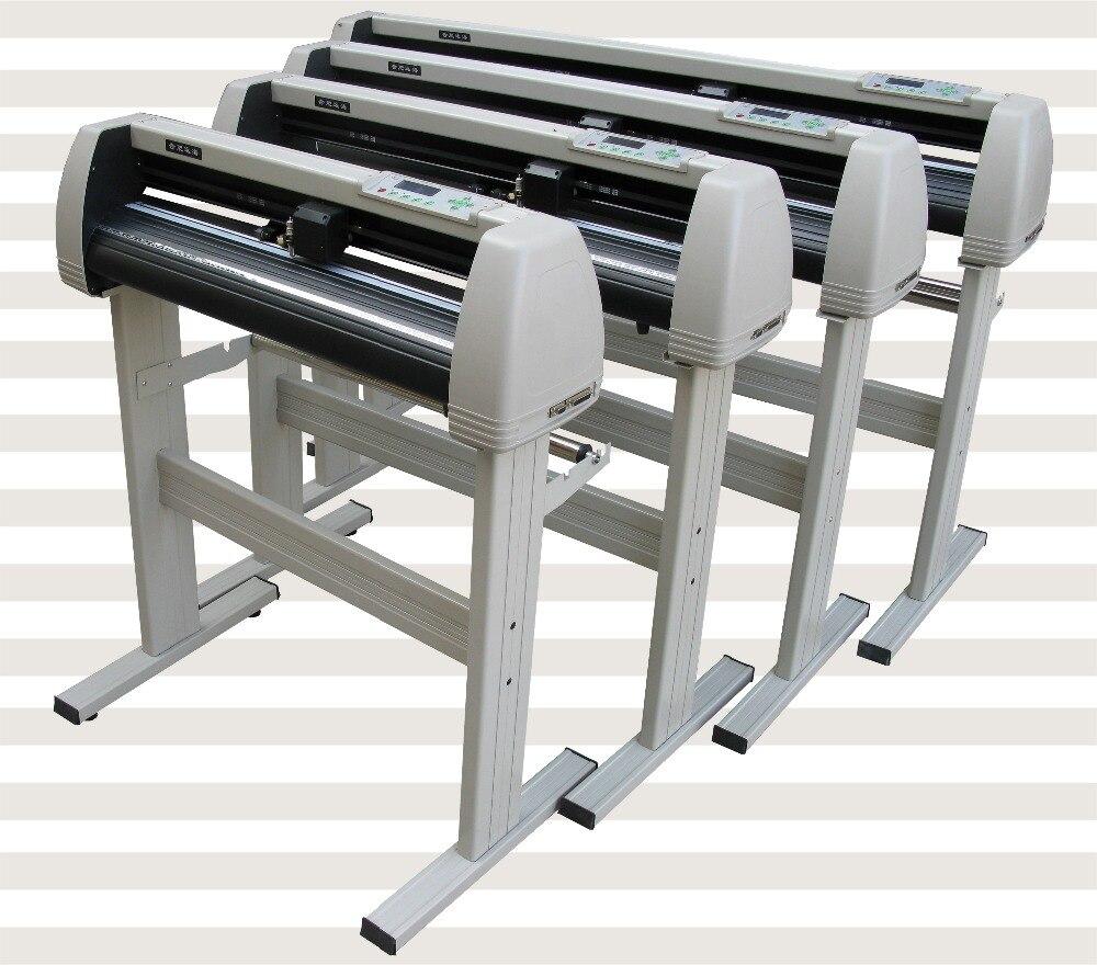 Traceur professionnel de coupe d'autocollant de mur/voiture de qualité précieuse de 720mm, traceur de coupeur de vinyle