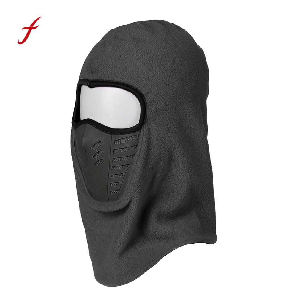 High Quality Outdoor Hood Ski Neck Face Mask Bike Windproof Motorcycle Face Mask Hat Neck Helmet Cap Red And Gray