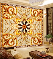 Classic 3D Curtains retro pattern Curtains For Bedrooom Luxury Curtains Designs 3D Blackout Curtains Drapes