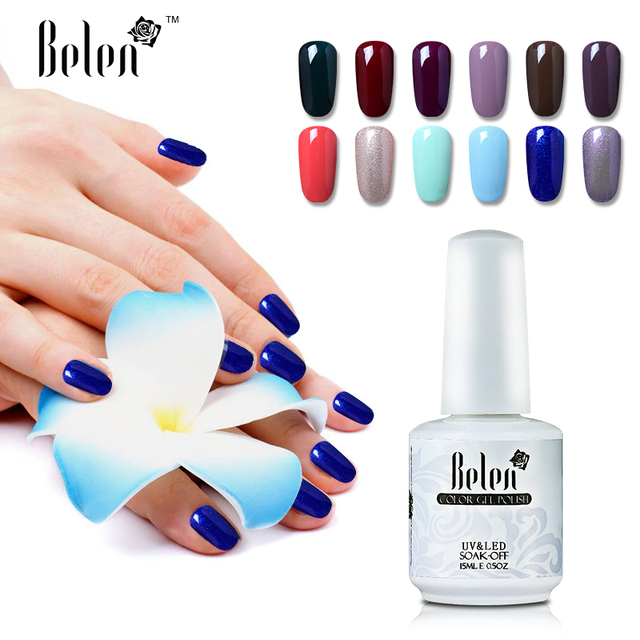 Belen Soak Off Gel Polish 15ml Wonderful Gel Lacquer Color Nail ...