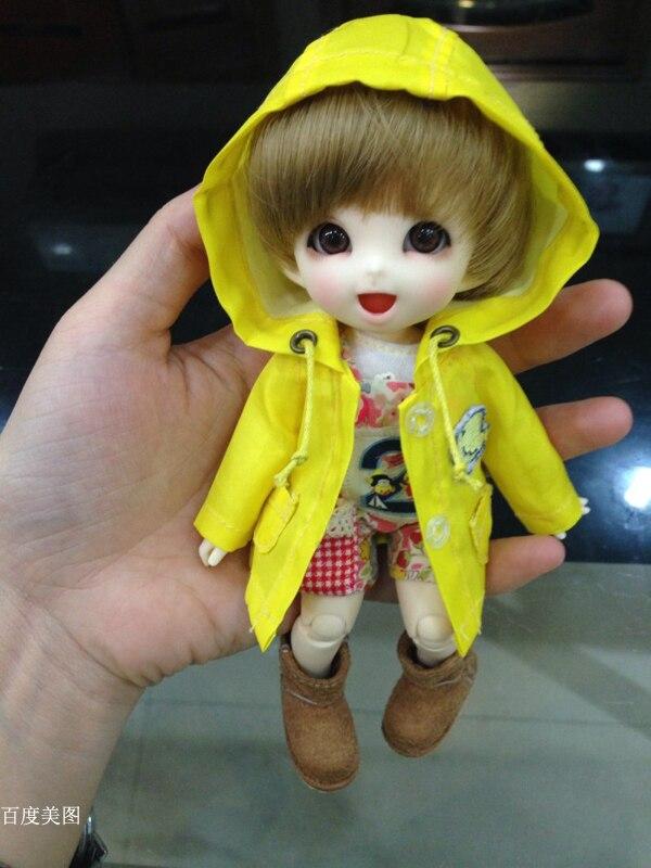 BJD 1/8 Pongpong เด็กทารกตุ๊กตาดวงตาฟรีปาล์มตุ๊กตา HeHeBJD make up-ใน ตุ๊กตา จาก ของเล่นและงานอดิเรก บน   3