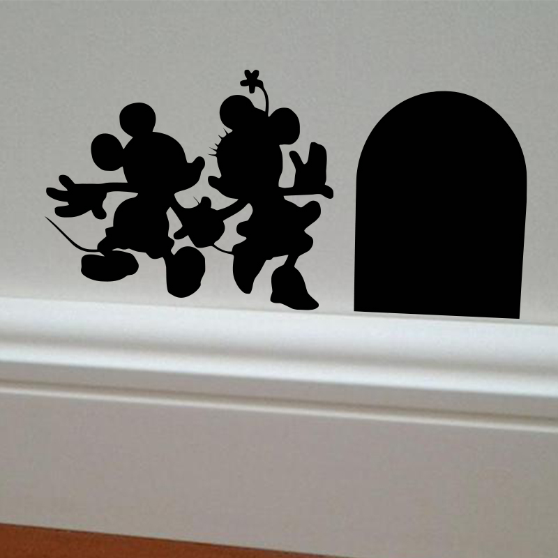 Buy Mickey And Minnie House Vinyl Diy