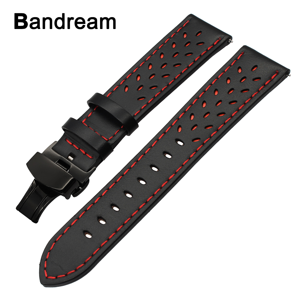 Italy Genuine Leather Watchband 22mm for Samsung Gear 2 Neo Live Huawei Watch 2 (Classic) Vector Quick Release Band Wrist Strap france genuine leather watchband for samsung gear s3 classic frontier r760 770 double color watch band quick release wrist strap