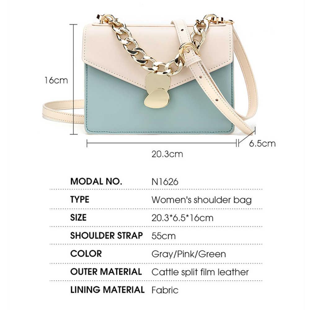 BISONJS Mewah Tas Tangan Wanita Tas Desainer Kulit Sapi Fashion Tas Selempang untuk Wanita Ladies Shoulder Bag Bolsa Tas B1626