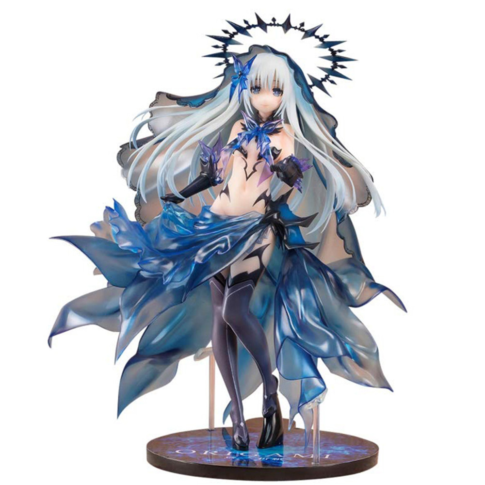 Date A Live Figure Tobiichi Origami Action Figure PVC Angel Devil Girl Juguetes Hot Toy Kids Gift Doll Figuras Anime Model PM