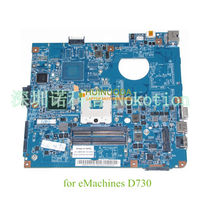 NOKOTION 48.4GY02.031 MBN9B01001 MB.N9B01.001 For emachines D730 laptop motherboard DDR3 HM55 nokotion laptop motherboard for acer 4741 4741g d730 nv49c ms2303 ms2306 mbr7p01003 48 4gy02 031 hm55 nvidia gt420 ddr3
