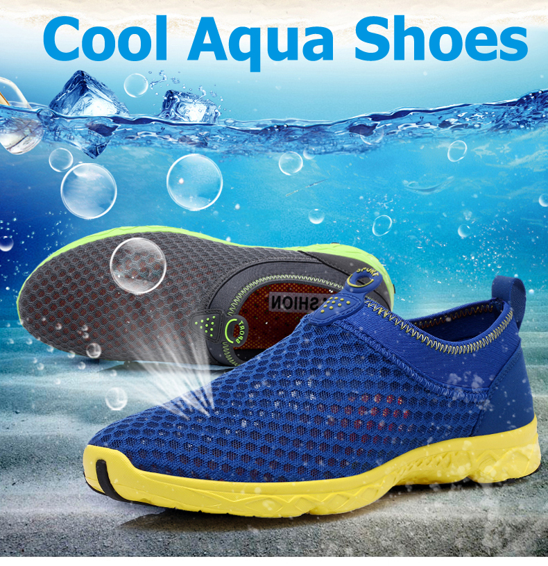 Quality Men Aqua Shoes Flats  Wearable Unisex Water Shoes Sneakers  Summer  Breathable Upstream Shoes Couple. product shows. 30-3021A 03 30-3021A 08 ... 93608fef2c56