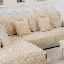 Новый Дизайн sofa slipcover Коврик элегантный Европейский Стиль Роза местный диван крышка Нескользящие Чехлы для диванов Домашний Декор