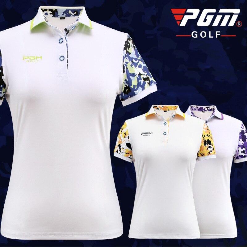 Chemises de Golf pour femmes compétition entraînement personnel d'été manches imprimées chemises de Base Style étoile chemises de fond