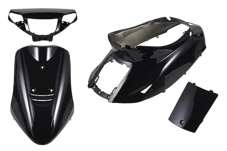 Honglue אופנוע אביזרי קטנוע ימאהה JOG50 ZR 3KJ ABS פלסטיק מלא סט צבע פלסטיק גוף כיסוי להריון ולידה Fairing