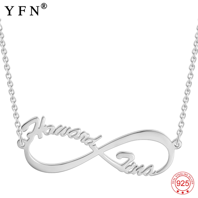 Necklace 925 sterling silver custom name necklace personalized necklace 925 sterling silver custom name necklace personalized infinity love pendants necklaces fashion women jewelry x0016 aloadofball Image collections