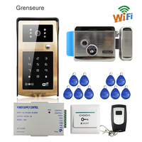 Free Shipping New RFID Code Keypad Wifi Video Intercom Door Phone Waterproof Metal Doorbell For Android