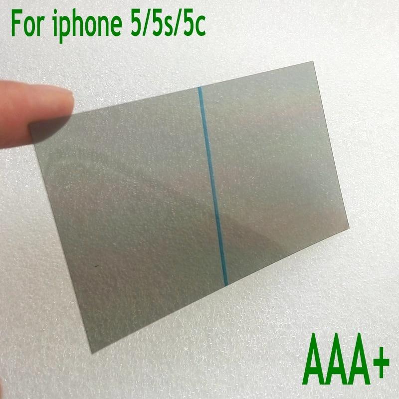bilder für 20 teile/los HIGHT qualität VORNE polarisierte film Für iPhone 5 5 s 5c lcd-bildschirm POLARISATION Film FÜR REPARATUR