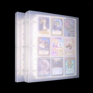 Image 1 - 900 Thẻ Dung Lượng Thẻ Giá Đỡ Chất Kết Dính Album Cho CCG MTK Magic Yugioh Bảng Trò Chơi Thẻ Quyển Sách Giá Đỡ