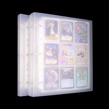 Capacidad de 900 tarjetas, soporte de tarjetas, carpetas de álbumes para CCG Magic MTG Yugioh juegos de mesa, tarjetas marcadores de libros, soporte de manga