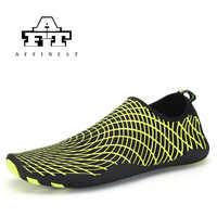 2018 Aqua extérieur eau en amont chaussures séchage rapide randonnée Sport été pour Ultra-léger respirant maille rivière chaussures de plage 35-45