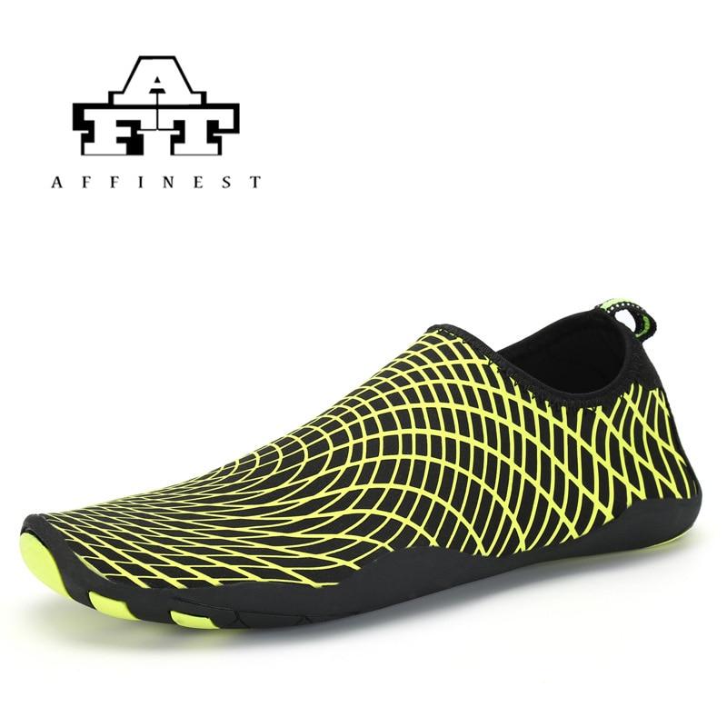 2018 Do Aqua de Água Ao Ar Livre Sapatos Montante-secagem Rápida Caminhadas Esporte Verão De Malha Respirável Ultra-leve Praia Fluvial sapatos 35-45