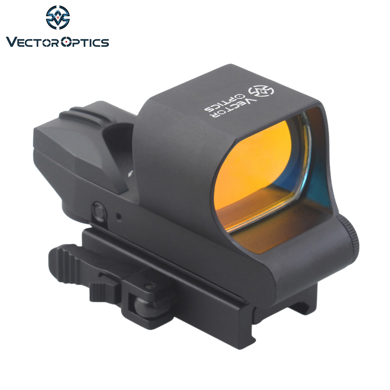 Vector Optics Ravage 1x28x40 Multi Reticle Red Dot Sight Scope com Weaver Baser 20mm para real & Airsoft