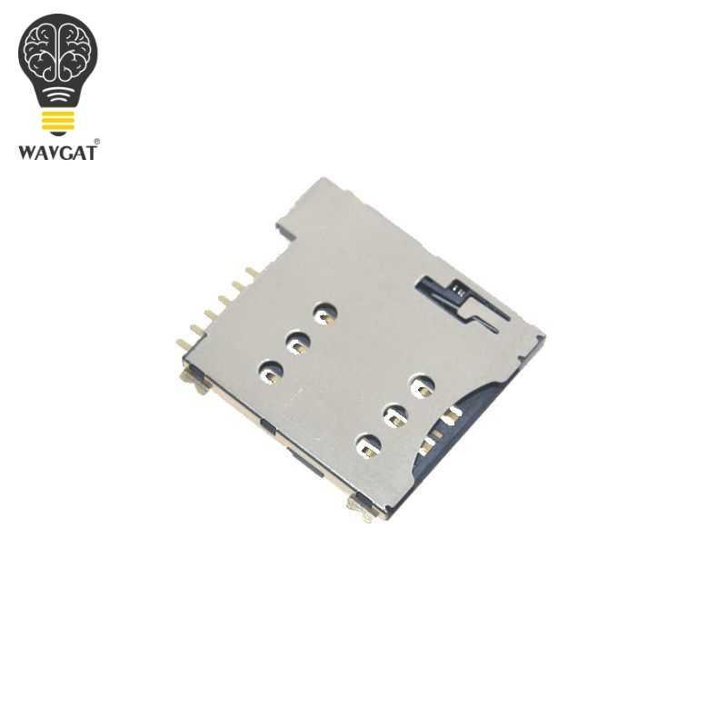 Auto push slot per SIM card Micro SIM Supporto della scheda di Memoria adattatore connect uso per il Modulo GSM SIM800L SIM800C