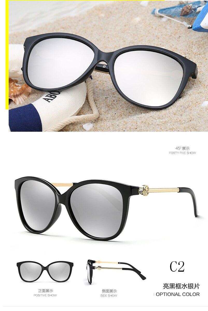 Lvvkee persegi sunglasses Wanita Desainer Kacamata Wanita - Aksesori pakaian - Foto 4