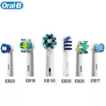 Электрическая зубная щетка Oral B головы глубоко очистить Сменные зубы головка щетки для D12013/D16523 4heads/пакет EB30 /17/18/20/25/50(China (Mainland))