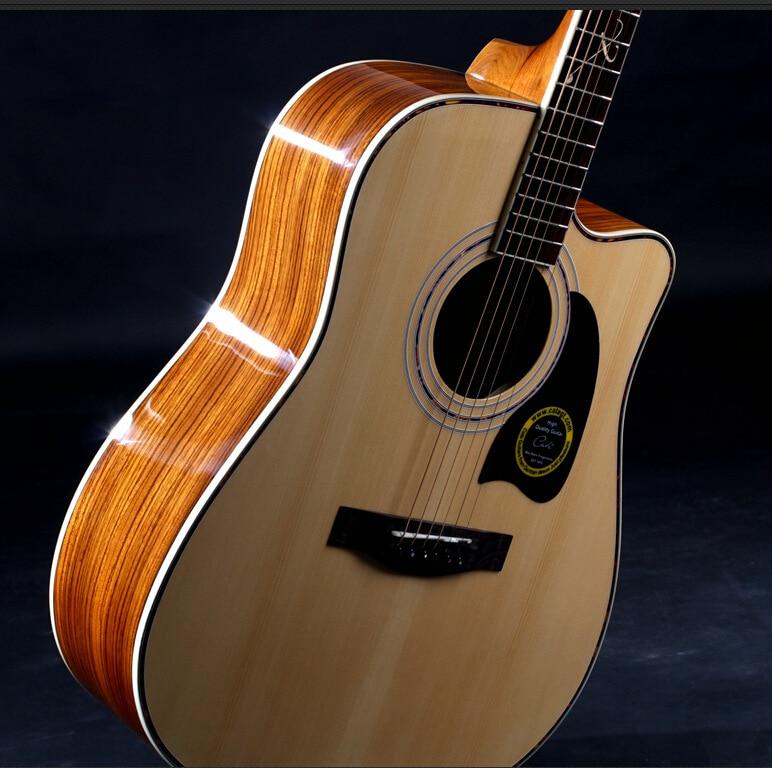 все цены на 41-27 High quality guitars 41 inch high quality  Acoustic Guitar Rosewood Fingerboard guitarra with guitar strings онлайн