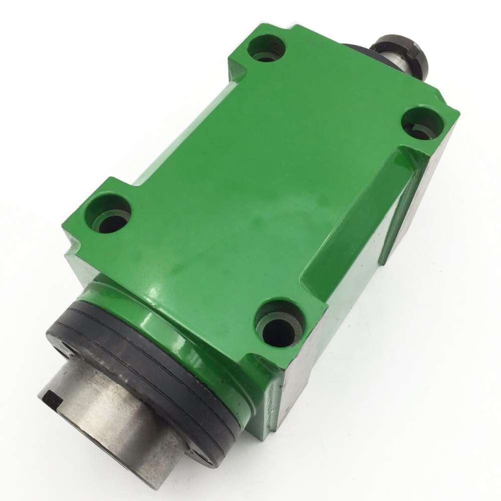 BT30 Max. 3000~8000rpm. Power Head Power Unit 1500W 1.5KW 2hp Machine Tool Spindle Head for Boring Milling Cutting Machine