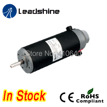 Leadshine DCM57205 80W Brushed Servo Motor with 4000 rpm max speed and 1000 Line Encoder dcs810 leadshine digital dc brush servo drive servo amplifier servo motor controller up to 80vdc 20a new original