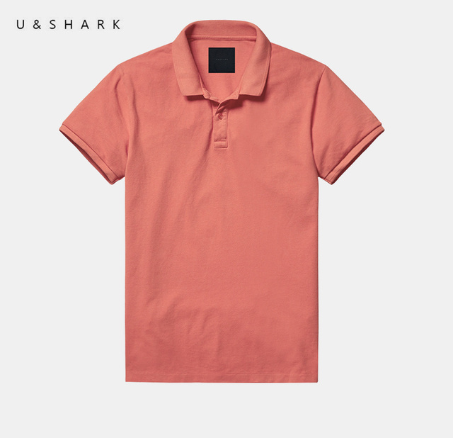 U & Shark Alta Calidad Diseñador Horse Polo Homme Hombres de la Marca de Algodón ropa de 2016 Del Verano Nuevos de Manga Corta Camisa de Polo de Secado rápido masculino