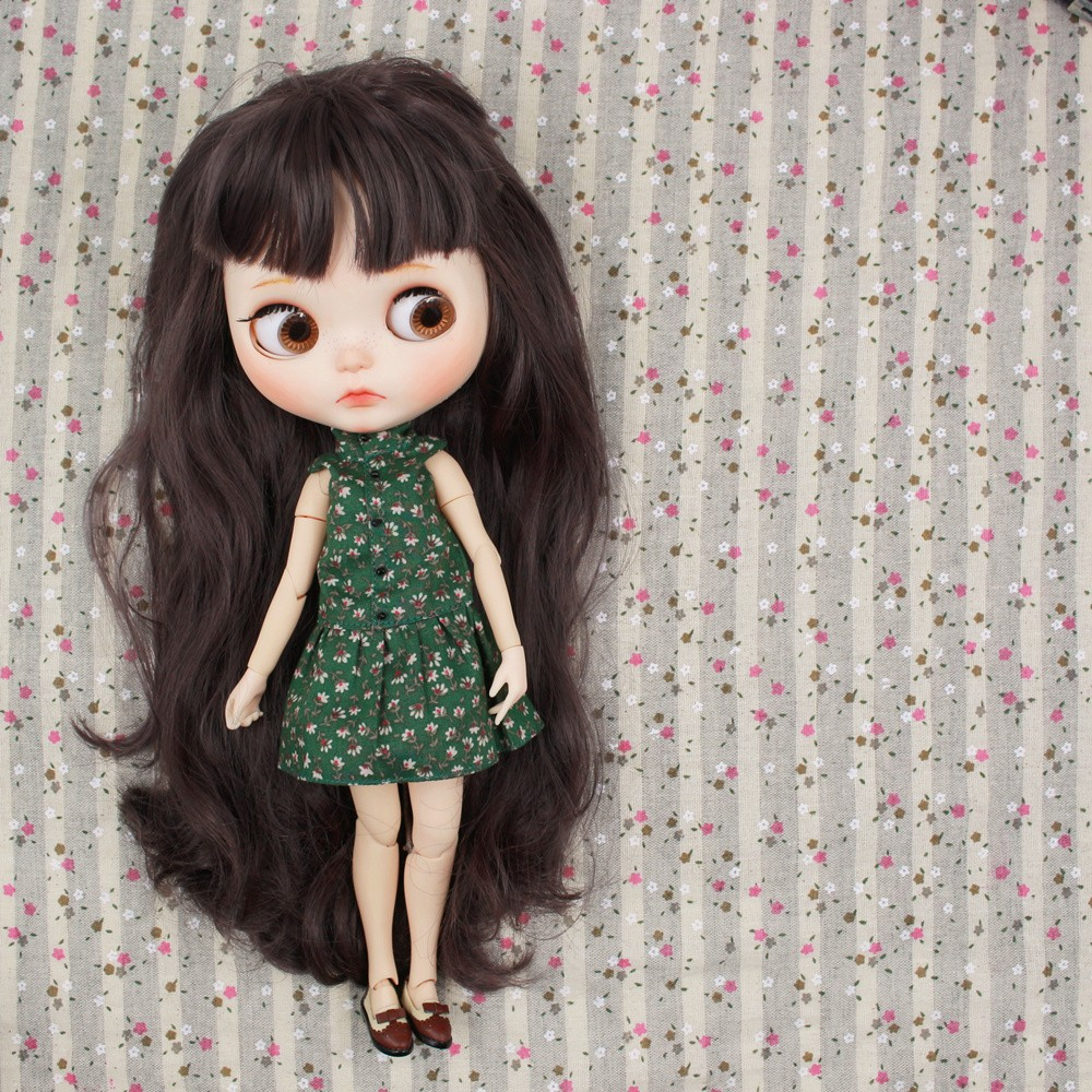 Neo Blythe Doll Floral Dress With Jacket 3
