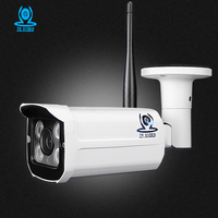 ZSVIDEO CCTV Monitor IP Camera Wi Fi IP Cameras Wifi Outdoor Alarm System Waterproof Wireless NVR