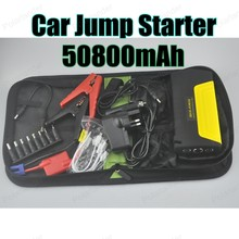 New Arrival Car Jump Starter  Mobile Car Emergency Battery Charger Multi-function Power Bank 12 V  50800 mAh