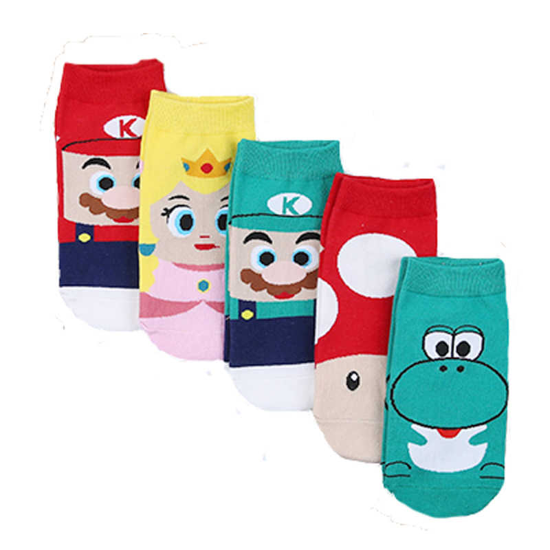 New Arrival harajuku Women Socks kawaii Cotton Cartoon Socks Women Fashion Happy Funny Socks calcetines mujer