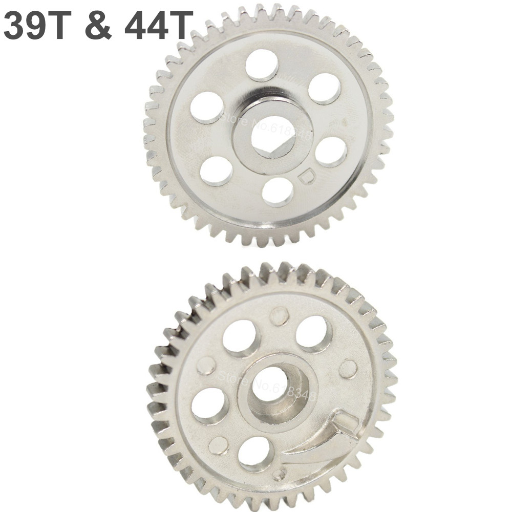02040 02041 Metal Diff Main Gear (39T) & (44T) For HSP Spare Parts For 1/10 RC Model Car Upgrade Parts