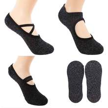 3 Pairs High Quality Yoga Socks Women Sports Non-slip Backless Breathable Pilates Ballet Gym Fitness Professional