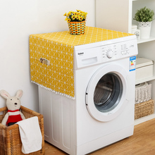 Геометрические чехлы для стиральной машины, пылезащитные Чехлы для холодильника с сумкой для хранения, чехлы для микроволновой печи, аксессуары для чистки, чехол