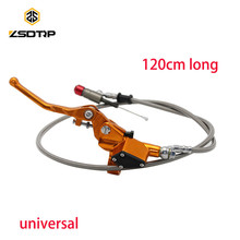 Фотография  spree Colorful Motorcycle Hydraulic Clutch Master Cylinder Rod Fit ATV Motocross Pit Bike Spare Parts Of 1200 mm