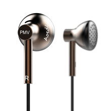 Cheapest Newest PMV B01 AOEDE In Ear Earphones HIFI Earbud Flat Head Earplugs Headset Metal Earbud MX500 PK2 PK1