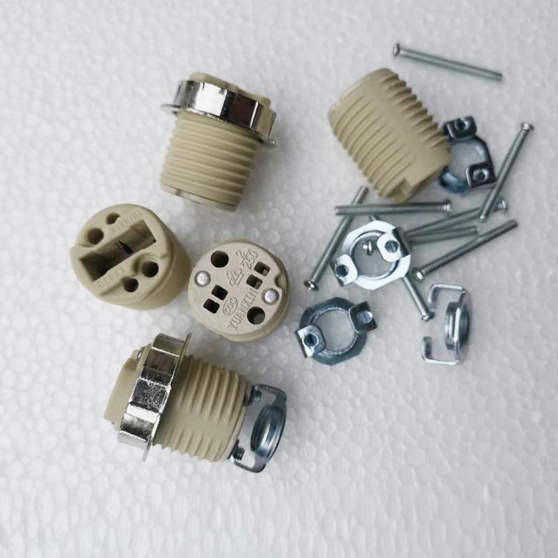 G9 bulb Holder lamp holder Socket for G9 led bulb base light Base 110-240V Ceramic bulb Socket G9 holder Lighting Accessories