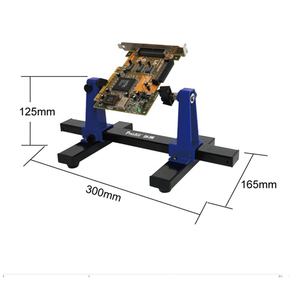 Image 2 - SN 390 العالمي قابل للتعديل لوحة دوائر كهربائية المشبك PCB حامل تركيبات لحام مساعد المشبك لإصلاح رقائق ميل اللوحة
