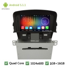 Quad Core Android 4.4.4 7″ 1024*600 WIFI 3G FM Car DVD Player Radio Audio Stereo Screen PC For Holden Chevrolet Cruze 2008-2014