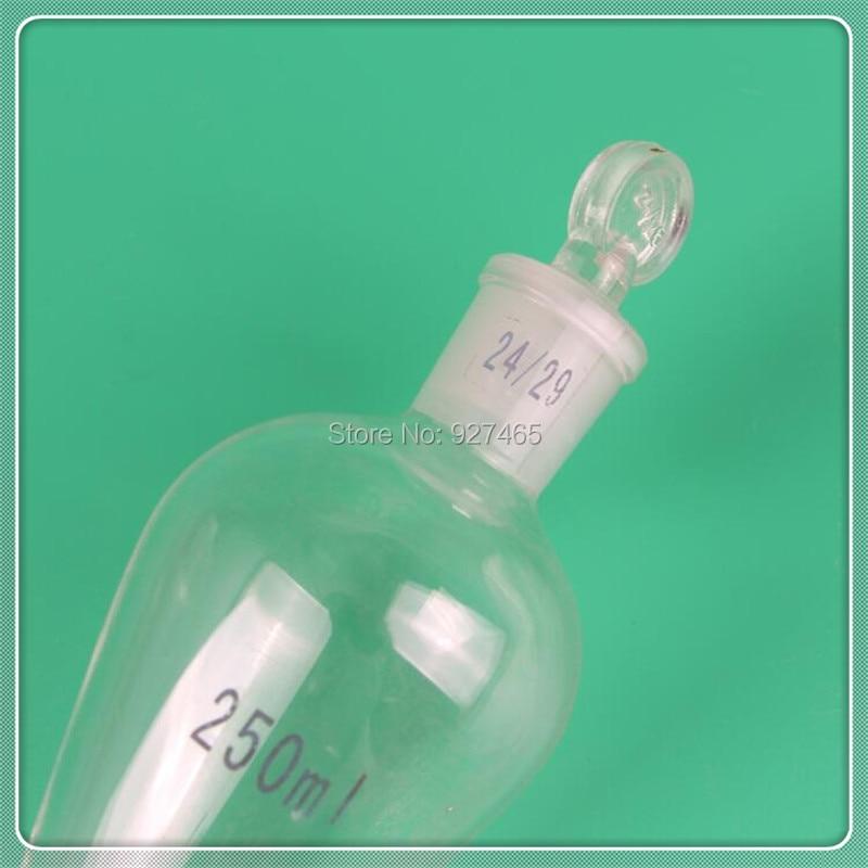 glass separatory funnel