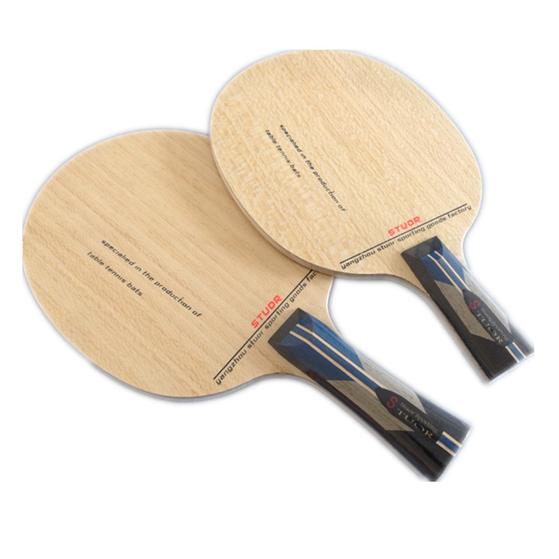 Stuor/ Situo Genuine Table Tennis Racket Bottom 7 Layer ZLC Carbon Black Glassy Carbon Paulownia Large Core