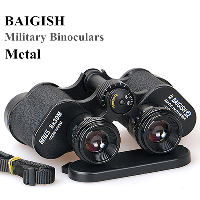 Image 5 - ALL Metal HD Binoculars Military Binocular Lll Night Vision Telescope Wide angle pocket min Russian zoom Monocular Baigish 20X50-in Monocular/Binoculars from Sports & Entertainment
