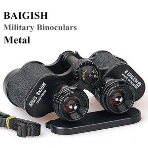 Image 5 - Binoculares militares de Metal HD, Lll, telescopio de visión nocturna, gran angular de bolsillo, Min, zoom ruso, Monocular Baigish 20X50