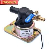 TopAuto 12 v Kamyon Karavan için 24 v Elektronik Tahliye Anahtarı Su Vanası Drenaj Damla lastiğin Frenler Araba Aksesuarları
